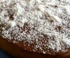 Schoko-Kokos Kuchen