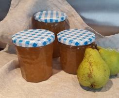 Birnen Amaretto Marmelade