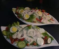 Weiße Salatsoße - Wie beim Italiener