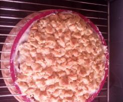 Variation Streusselkuchen nach Oma gepimpt mit Pudding
