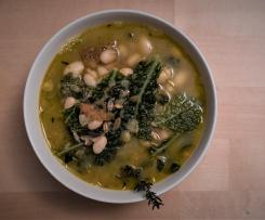 Bohnen-Dinkel-Wirsing-Eintopf vegan