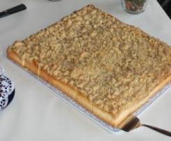Apfelstreuselkuchen vom Blech