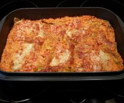 Karotten-Frischkäse-Lasagne