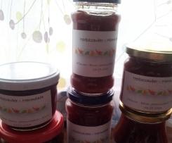 Herbstzauber - Marmelade ( Pflaume - Birne - Johannisbeere - Zimt)