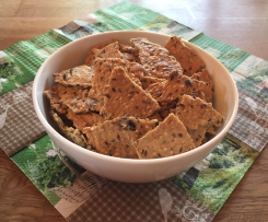 Knusperchips / Cracker - lecker und gesund