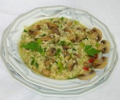 Pilz-Risotto mit Thymian
