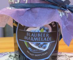Blaubeer-Marmelade / Heidelbeer-Konfitüre - einfach lecker