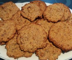 Variation Haferflockenkekse ohne Butter und Zucker