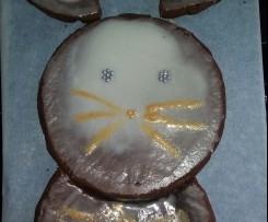 Süßer Hasenkuchen ~ Mandelkuchen ~ glutenfrei, auch Ei- und Milch-frei
