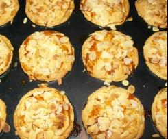 Gedeckte Apfelmuffins