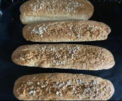 Honey oat Baguette