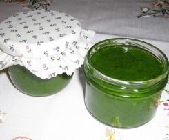 Bärlauch-Paste