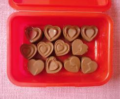 Eiskonfekt (Valentinstags-Herzen)