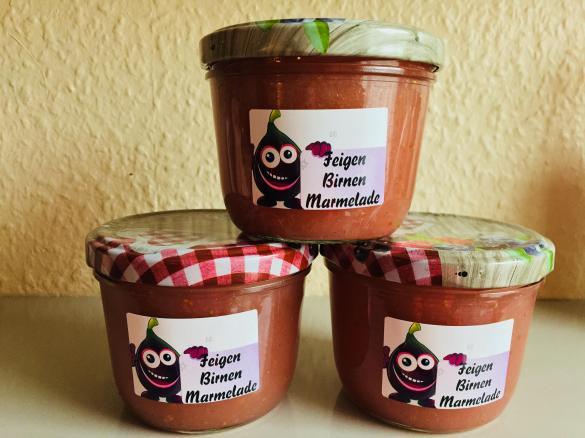 feigen marmelade mit birnen von ein thermomix rezept aus der kategorie saucen. Black Bedroom Furniture Sets. Home Design Ideas