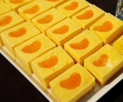 Käsekuchen mit Mandarinen
