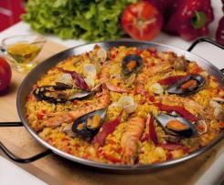 Paella, ohne Paprika