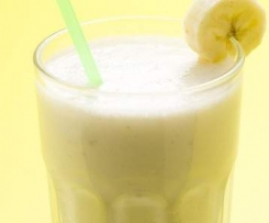Frozen Joghurt Bananen Shake