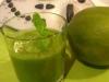"""Grüner Smoothie """"Green Energy"""" Frühstückstrink"""