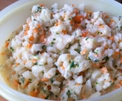 Kohlrabi-Karotten-Salat, Rohkost