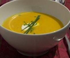 Ingwer Kürbis Suppe