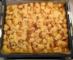 saftiger Apfel-Streuselkuchen vom Blech