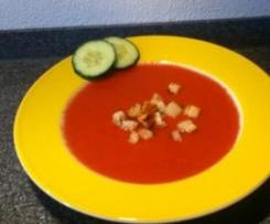 Tomaten-Gurken-Kaltschale