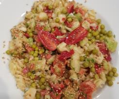 Gerrys bunter PASTA-Salat (mit Fusilli)
