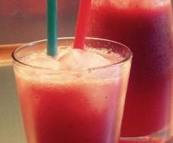 Erdbeer-Wassermelonen Limonade