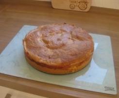Apfelkuchen mit selbstgemachtem Kompott
