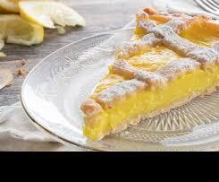 Crostata al Limone (Zitronentarte)