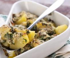 Knoblauchkartoffeln mit Kümmel