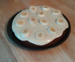 Bananenkuchen mit Topping