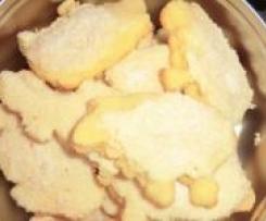 Kokos-Osterplätzchen/Lämmchen/Hasen