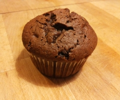 Doppel-Schoko-Muffins