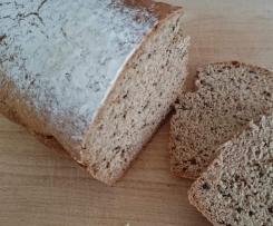 Halbweiss-Allergiker Brot ohne Hefe
