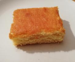 Saftiger Zitronen-Blechkuchen