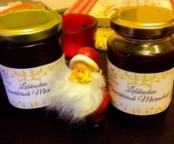 Lebkuchen Sauerkirsch Marmelade