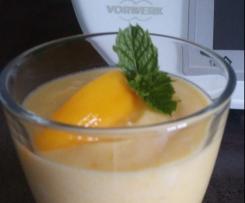Pfirsich-Rum-Dessert