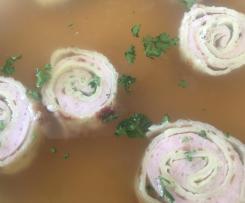 Allgäuer Brätstrudel für die Suppe