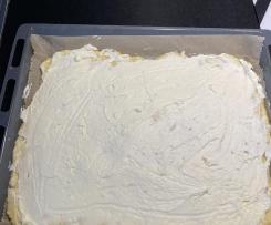 Streuselkuchen mit Käse Sahne