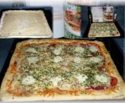 WM Pizza mit Fetakäserand