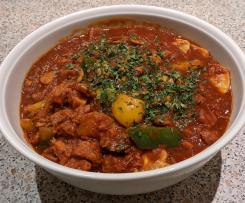 Paprika-Soja-Gulasch (vegan)