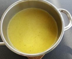 Variation Kartoffelsuppe nach Oma Hilde's Rezept - schnell und püriert