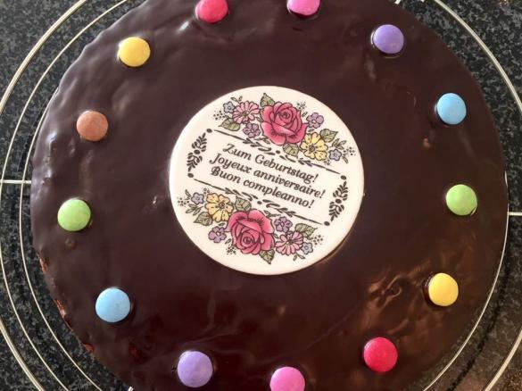 Kinder Geburtstagskuchen Mit Viel Liebe Saftig Von Tantelilli88
