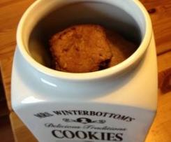 Walnuss-Schoko-Cookies (ohne Ei)