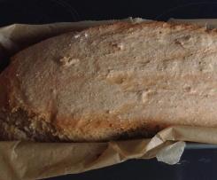 Schnelles Brot mit Roggen und Dinkel