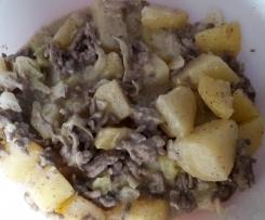 Wirsinggemüse mit Kartoffeln und Hack