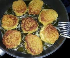 Frikadelle m. Möhren vegetarisch
