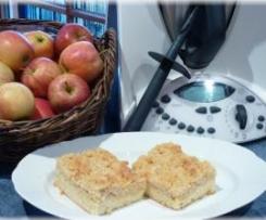 Apfelstreuselkuchen auf dem Blech abgeändert