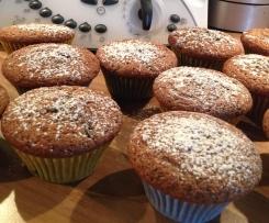 Schwarzbeer Fanta Muffins (Blaubeer Red Bul Muffins)